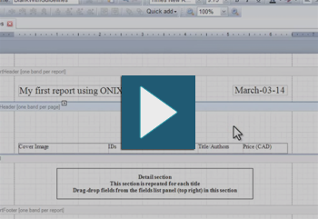 Create Reports from your ONIX files